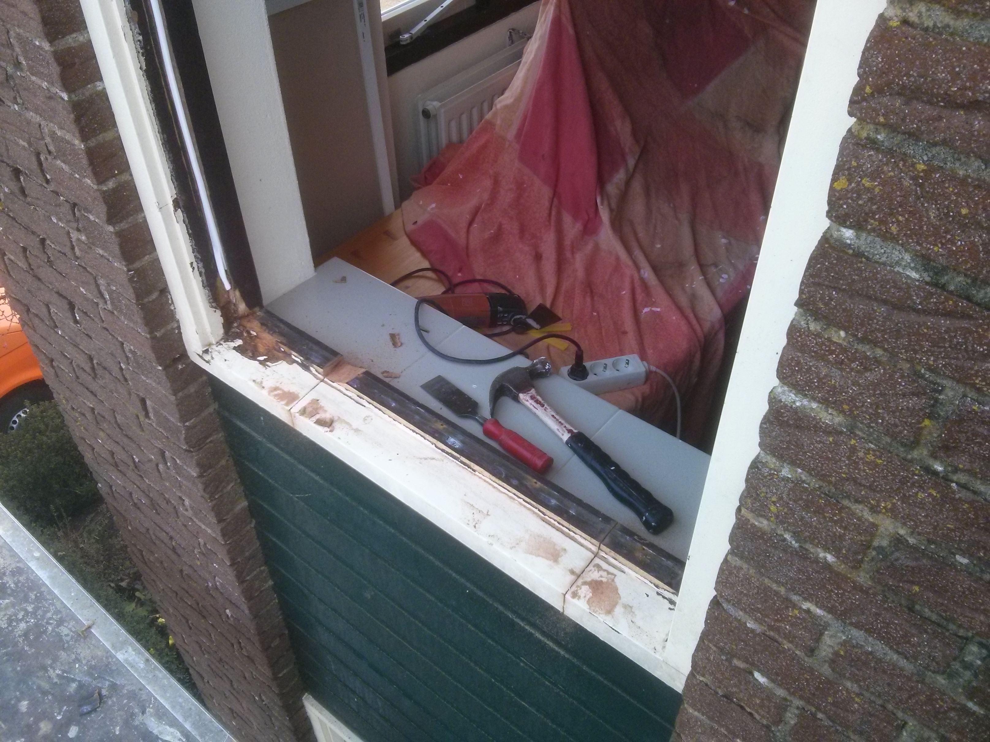 houtrot renovatie