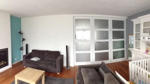 Schuifwand kamers en suite
