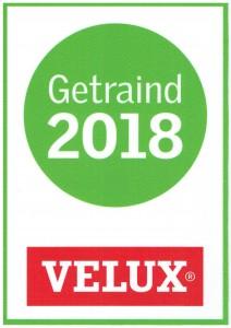 Velux getraind 2018